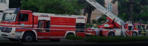 v primeru požara v stanovanjskih objektih,