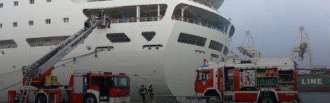 v primeru nesreč na vodi,