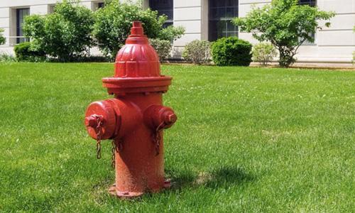gasilci koper hidrant operativa