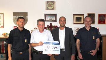 Luka Koper nam namenila 10.000 evrov donacije