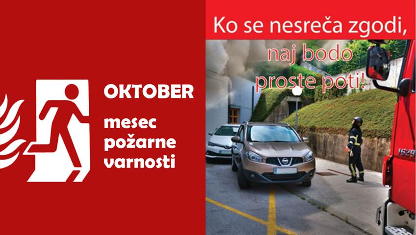 mesec požarne varnosti