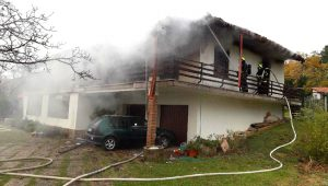 stanovanjski požar