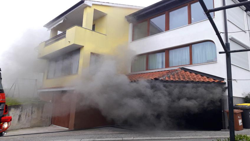 požar garaže