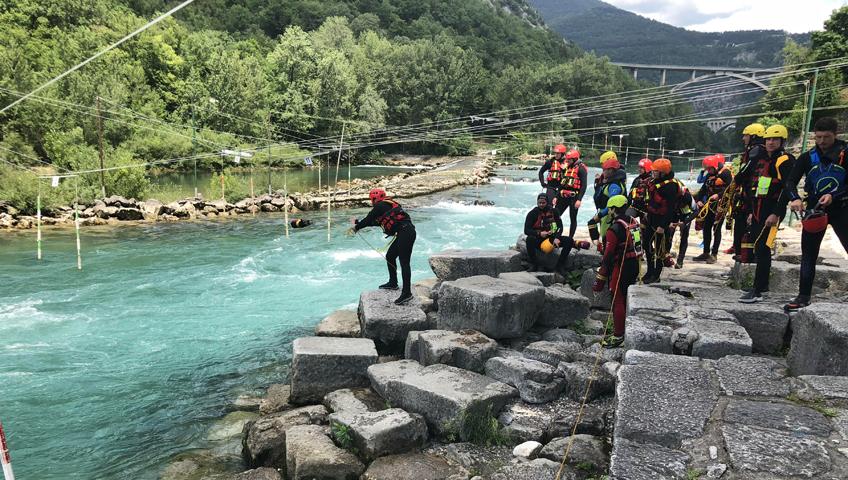 Usposabljanje v primeru nesreč na vodi